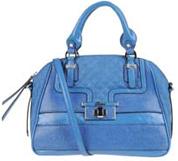 Medium fabric bag in blue