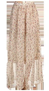 Airy skirt