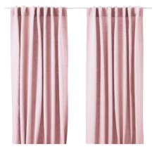 Pink Curtain Panels
