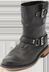 Zip-Back Motorcycle Boot