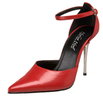 Racy red pumps