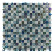 Luminous glass tile
