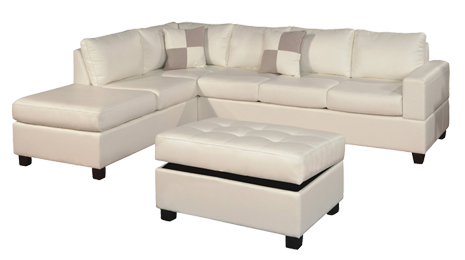 Roomy sectional