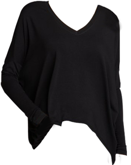 Wyatt jersey knit tunic