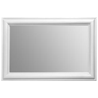 White Finish Wall Mirror