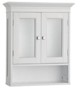 Fieldcrest Wall Cabinet, White