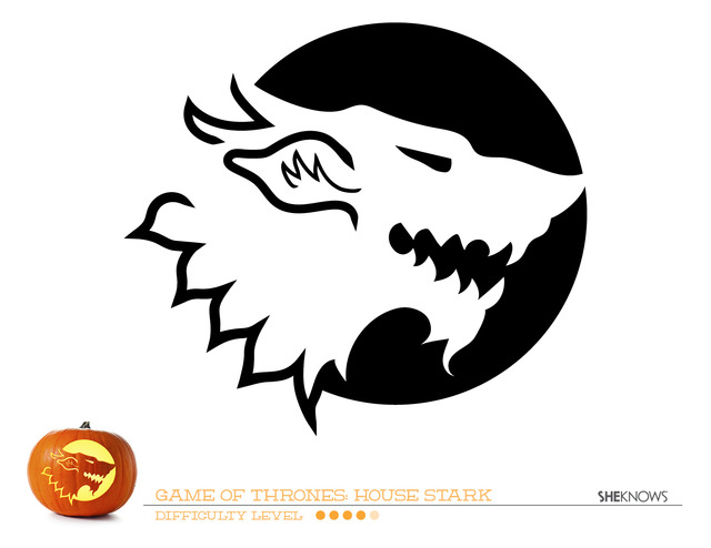 Lively image with game of thrones stencil printable