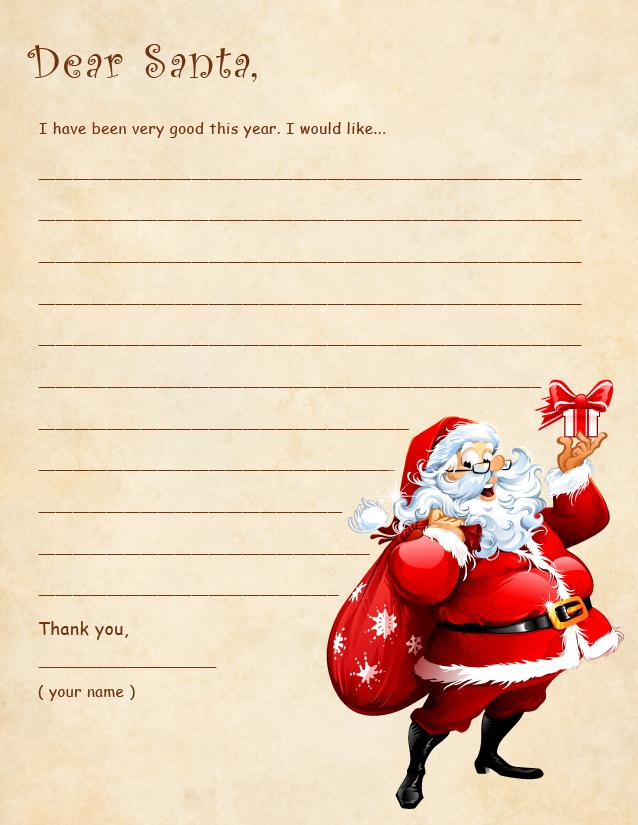 Dear santa list 2 free printable coloring pages letters to santa dear santa list 2 spiritdancerdesigns Image collections
