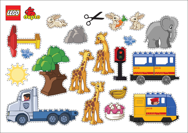 lego cut-outs