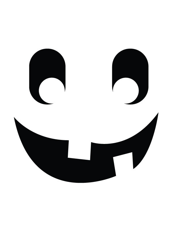 Pumpkin carving templates: Jack o'lantern 15