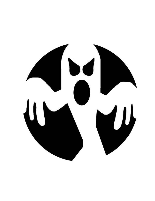 Ghost Pumpkin Stencils Ghost - Free Printable...