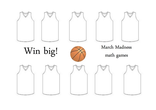 March Madness Jersey Games