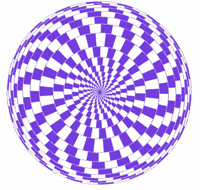 Shivering purple circles Free