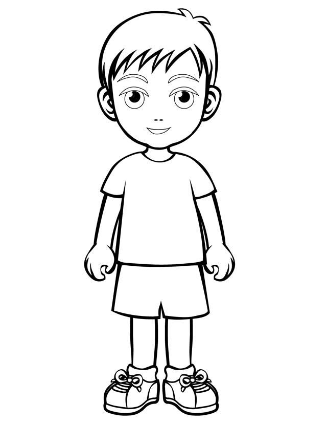 Son Free Printable Coloring Pages