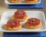 Cheesy tomato melts