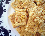 No Bake Cereal Peanut Bars