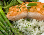 Sweet Chili Salmon Steaks