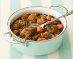 Beef-Barley Stew in a Crock Pot