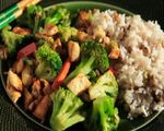 Turkey Vegetable Stir Fry