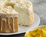 Sugared Angel Food Cake