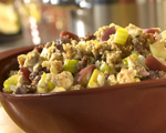 Chestnut apple cornbread stuffing