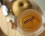 Asian Pear and Cinnamon Spiced Martini