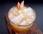 Autumn's Apple, Cinnamon, Cider and Whiskey Cocktail