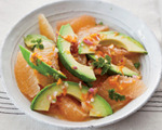 Avocado and Pink Grapefruit Salad
