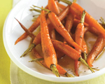 Baby Carrots with Orange and Cumin