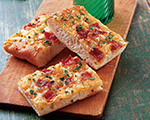 Bacon and Cheese Snack Bread