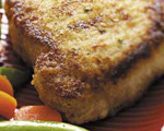 Baked and Breaded Pork Chops Italian-Style
