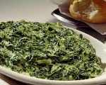 Baked Cream Spinach