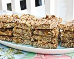 Baked oatmeal snack bars