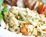 Baked Orzo with Vegetables