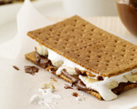Banana and Nutella S'Mores