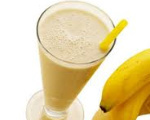 Thick and Creamy Banana Shake