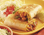 Barbeque Chicken Burrito