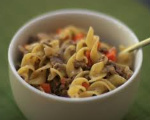 Baked Beef Stroganoff with Carrots