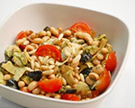Black-Eyed Pea and Artichoke Salad