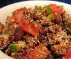 Avocado, Red Pepper, & Black Bean Quinoa