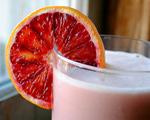 Blood Orange and Coconut Milk Julius