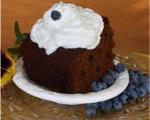 Fresh Blueberry Gingerbread