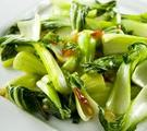 Bok Choy with Garlic and Ginger