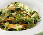 Bok Choy, Cabbage and Pineapple Slaw