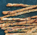 Herbed Campfire Bread Twists