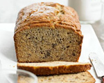 Breakfast Banana Bread with Walnuts