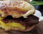 A Breakfast Sandwich