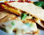 Brie and Mango Quesadillas