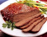 Cook and Slice Brisket