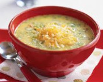 Broccoli Carrot Cheese Soup